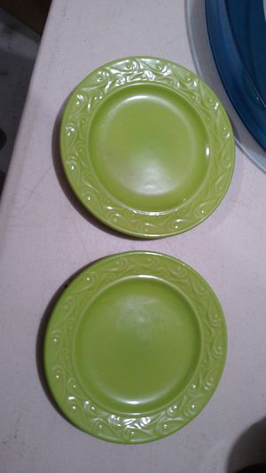Green small plates for Sale in Adelanto, CA