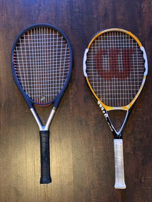 Tennis Rackets and Balls for Sale in San Jose, CA