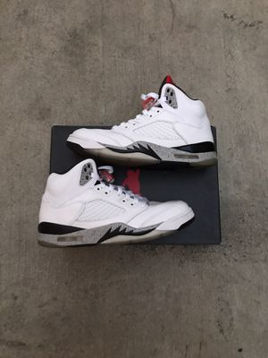 "Air Jordan 5 Retro ""White Cement"" for Sale in Los Angeles, CA"