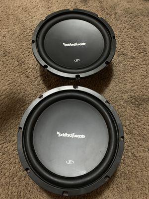 2 Rockford Fosgate size 10 for Sale in Ontario, CA