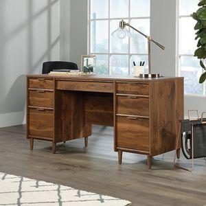 "Mid-Century Modern Double Pedestal Executive Desk - 60""W for Sale in Davenport, FL"