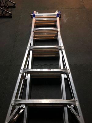 """Werner 21"""" adjustable aluminum ladder for Sale in Poway, CA"""