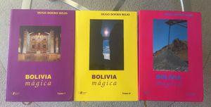 Un conjunto de 3 libros sobre las maravilla de Bolivia for Sale in Silver Spring, MD