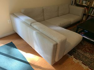 Grey couch for Sale in Rockville, MD