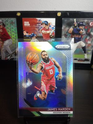 James Harden Silver Prizm for Sale in Houston, TX