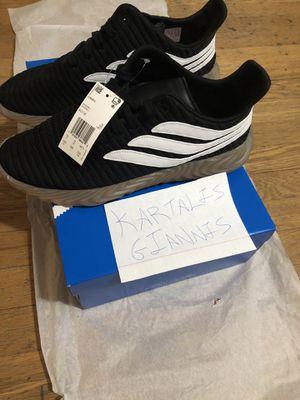 Adidas Sobakov Black/White/Gum Size 10.5 US for Sale in Boston, MA