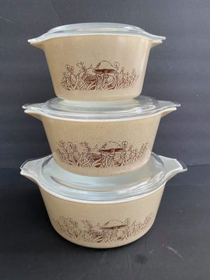 Pyrex Forest Fancies Casseroles for Sale in Midland, MI