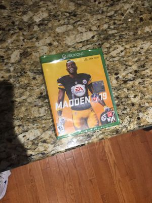 MADDEN 19 in Great condition for Sale in Mount Holly, NJ