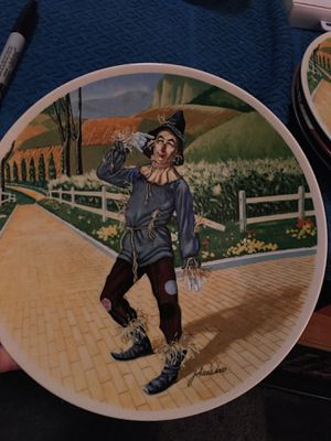 """Scarecrow, """"If I Only Had A Brain"""" Plate from 1978 for Sale in Midlothian, VA"""