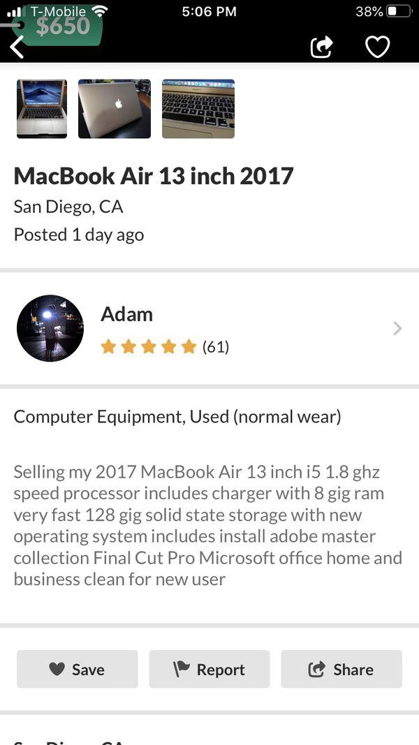 Apple MacBook Air 2017 locked!