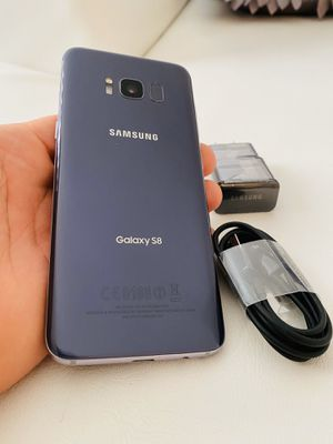 Samsung galaxy S8 orchid gray 64gb factory unlocked (firm price) for Sale in Davie, FL