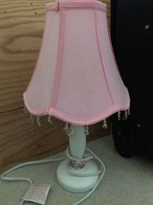 Pink lamp for Sale in Charlotte, NC