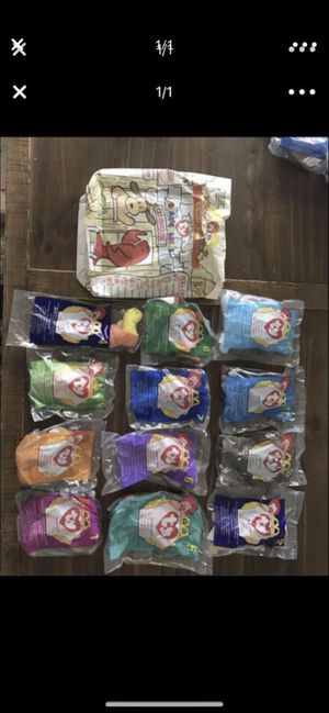1998 McDonald's happy meal Beanie Babies for Sale in Davie, FL