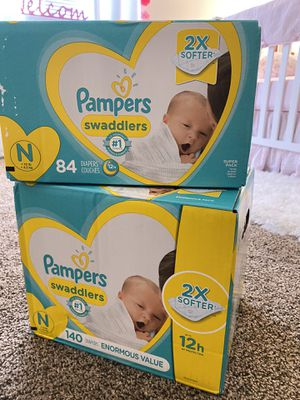 Pampers Newborn Diapers for Sale in Las Vegas, NV