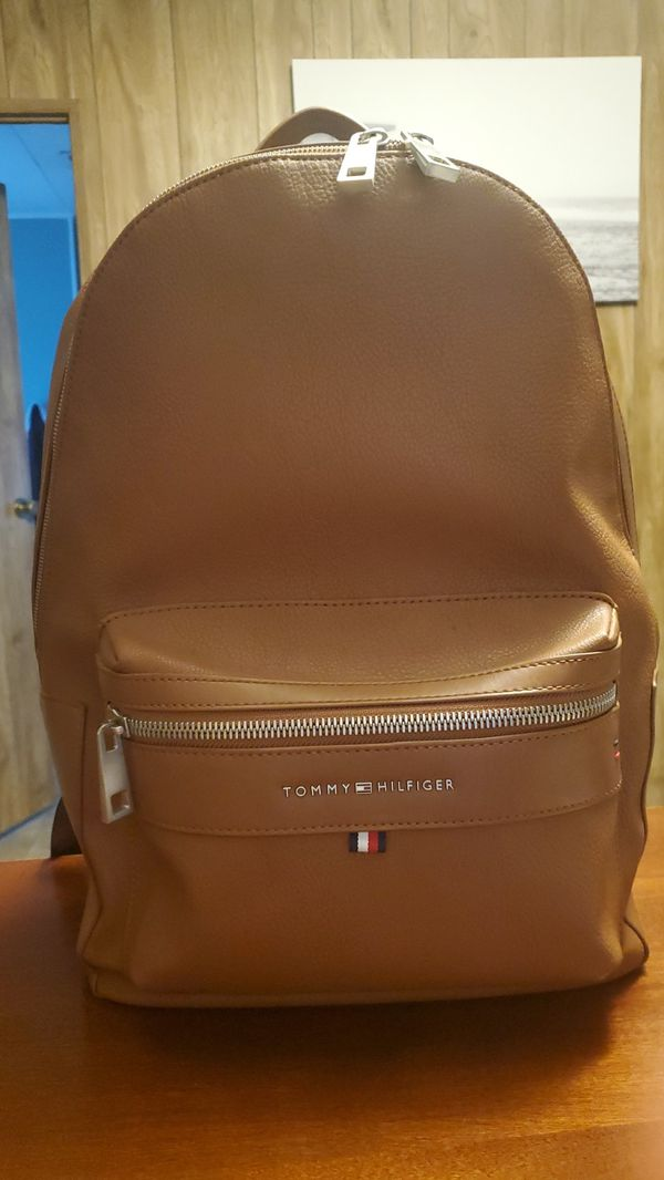 Tommy Hilfiger leather backpack