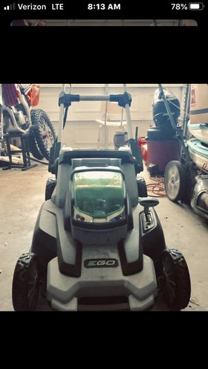 EGO Mower for Sale in Beaufort, SC