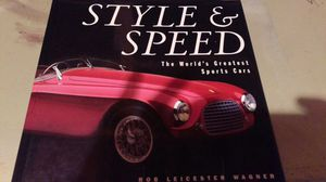 Style and speed car book for Sale in Appleton, WI