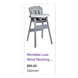 Monbebe Highchair for Sale in Forest Park, GA