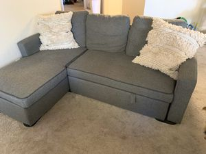 Small space sectional sofa couch for Sale in Santa Clara, CA