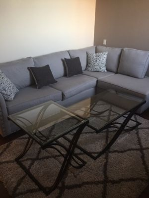 Glass Coffee Table and Two End Tables for Sale in Cleveland, OH