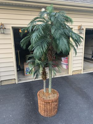"Large Artificial Tree 7.5', Pot 20""x 17"" for Sale in Freehold, NJ"