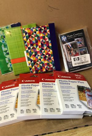 Photo paper + for Sale in Ronkonkoma, NY