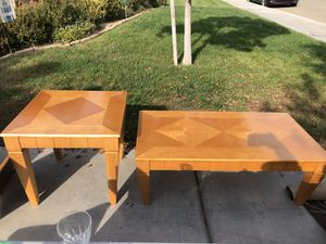 Coffee and End Table for Sale in Fresno, CA