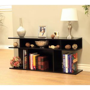 Wood/Console Sofa Table, Black for Sale in Houston, TX
