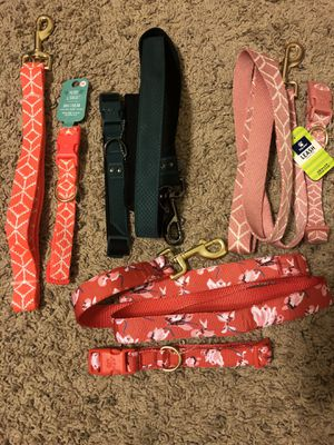 medium coller and leash sets for Sale in Phoenix, AZ