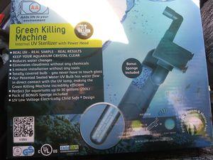 Green killing machine uv sterilizer with power head for Sale in Fresno, CA