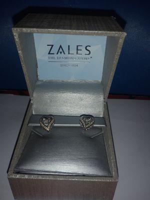 ZALES Silver Earrings for Sale in Huntington Park, CA