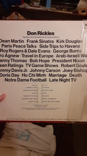 Don Rickles Spraks, vinyl for Sale in Fair Lawn, NJ