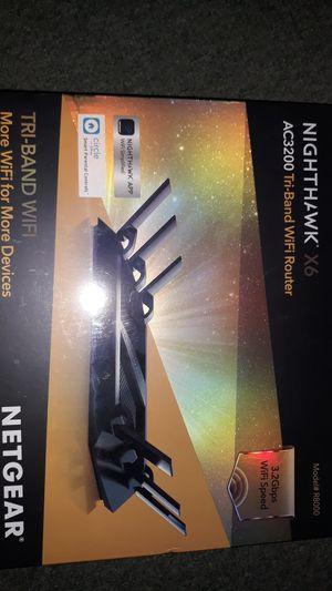 Nighthawk X6 MODEL# R8000 Netgear WIFI Router for Sale in Oakland, CA