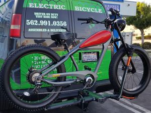 48 volts 750 watts Cheetah by Civi Bikes Cafe Racer Electric Bicycle Vintage e-Bike Class 3 ebike 750w Bafang & Samsung Cells for Sale in Downey, CA