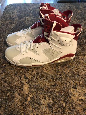 "Air Jordan 6 Retro ""Maroon"" size 12 for Sale in Rockville, MD"