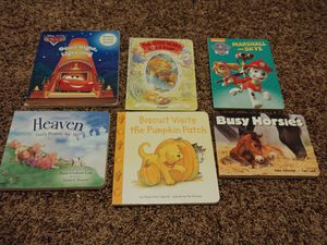 Lot of 6 Board Books. Horses, Heaven, Cars, Paw Patrol etc for Sale in Houston, TX
