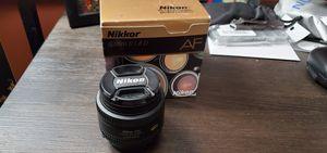 Nikon AF Nikkor 50mm f/1.8D Almost BRAND NEW for Sale in Buena Park, CA