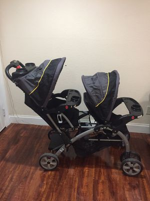 Sit and stand Double Stroller $70 for Sale in Dallas, TX