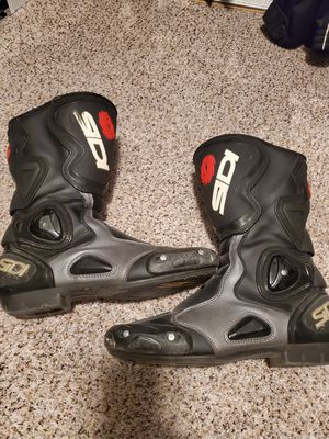 SIDI Motorcycle Racing Boots (Size 10) for Sale in Dracut, MA