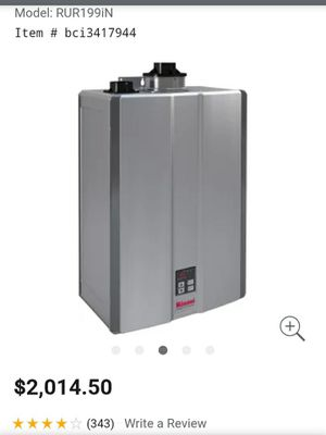 Tankless water heater for Sale in Puyallup, WA