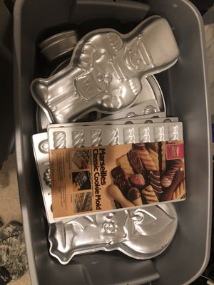 50+ holiday, character, misc cake and cookie pans for Sale in Falls Church, VA