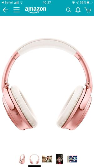 Bose noise cancelling wireless headphones for Sale in Boston, MA