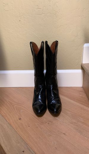 EUC Lucchese Women's 8.5 Narrow cowboy boots for Sale in Walnut Creek, CA