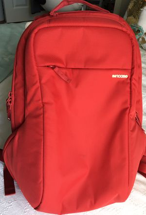 Red Incase laptop backpack for Sale in West Palm Beach, FL