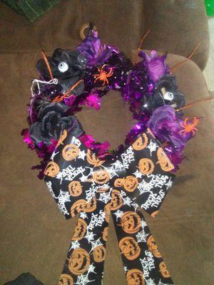 Halloween wreath for Sale in West Monroe, LA