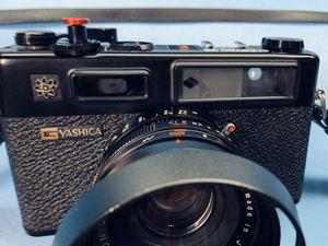 Vintage Yashica Electro 35 GTN 35 film Rangefinder camera, bundle. for Sale in Riverside, CA