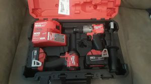 Milwaukee drill kit combo 2997-22 & Sawzall 2720-20 $325 for Sale in Tracy, CA