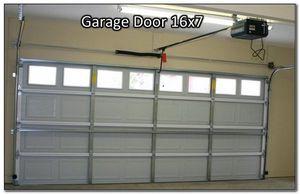 Garage door hurricane proof 16x7 for Sale in Miami Springs, FL