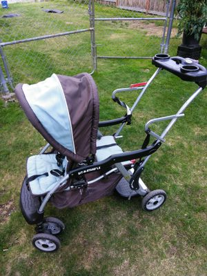 Baby trend sit-n-stand LX double stroller. for Sale in Everett, WA