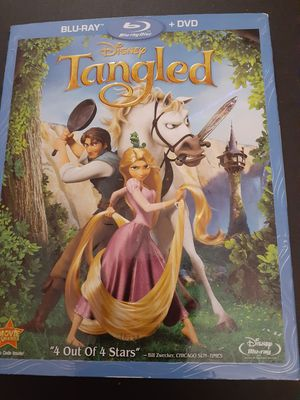Disney's TANGLED (Blu-Ray + DVD) for Sale in Lewisville, TX